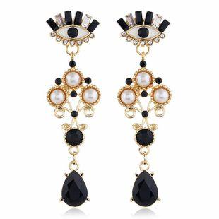 Pendientes de mujer de moda Pendientes de aleación de moda coreana pendientes pendientes pendientes de diamantes de perlas vintage al por mayor NHVA201103's discount tags