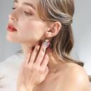Fashion womens earring925 silver hook sweet love wild earrings female spring new elegant earrings NHPP201110