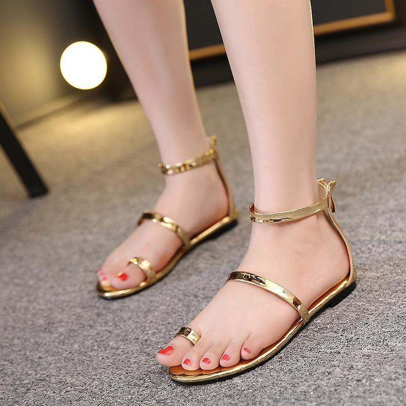 Summer new set of toe flat women shoes fashion casual ladies sandals wholesale NHHU206264