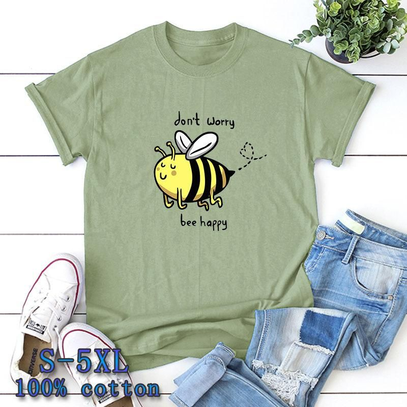 New short-sleeved T-shirt cute little bee short sleeve NHSN206411