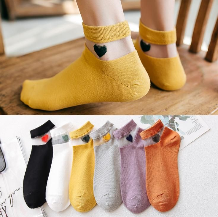 New socks love boat socks ladies socks wild women socks spring and summer socks NHER206460