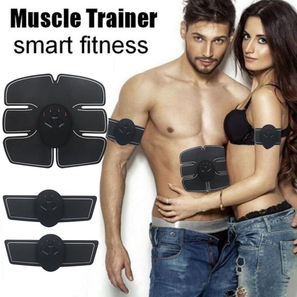 Intelligent Abdominal Exerciser Abdominal Sticker Fitness Equipment Lazy Abdominal Muscle Trainer Abdominal Exerciser EMS Fitness Instrument NHAT206468