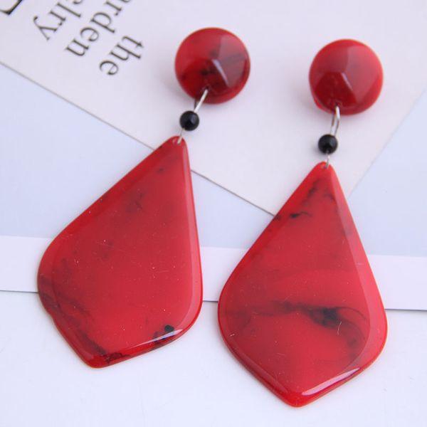 New Fashion Wild Drop Fashion Exaggerated Earrings Yiwu Wholesale NHSC206638