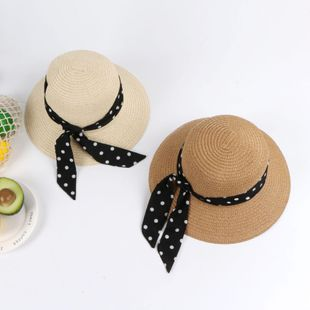 New fashion children sunshade sunscreen beach straw hat wholesale NHTQ208127's discount tags