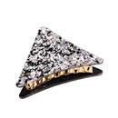 New fashion gold acetate powder hair clip hair clip triangle geometric cheap clip clip wholesale NHDM208162