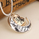 New fashion love pendant i love you mom sweater chain necklace yiwu nihaojewelry wholesale NHMO208172