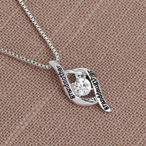 New fashion Grandmother Granddaughter Mother's Day gift necklace yiwu nihaojewelry wholesale NHMO208192's discount tags