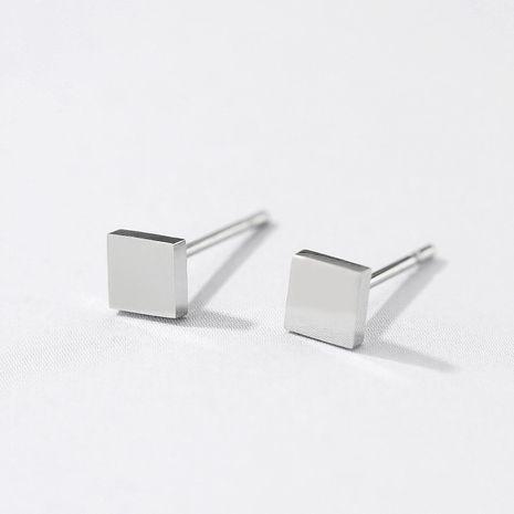 New fashion titanium steel earrings 316 stainless steel simple earrings yiwu nihaojewelry wholesale NHUI208222's discount tags