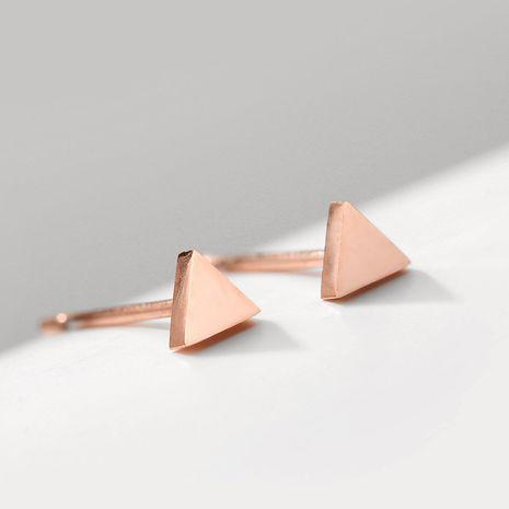 New fashion triangle earrings female 316 stainless steel earrings yiwu nihaojewelry wholesale NHUI208225's discount tags