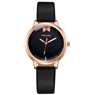 Korean fashion casual female watch simple bowknot fashion watch wholesale NHLN208229's discount tags