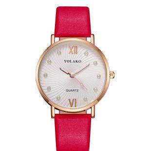 Korean new fashion spiral pattern ladies belt watch watch Roman literal inlay pearl quartz watch NHLN208236's discount tags