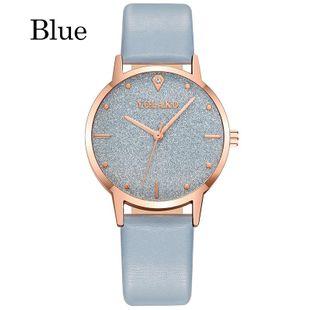 New casual fashion diamond-set ladies belt watch star diamond face dot scale three-pin quartz watch NHLN208242's discount tags