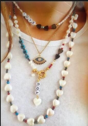 Customized products baroque multi-layer pearl necklace yiwu nihaojewelry wholesale NHMD208637's discount tags