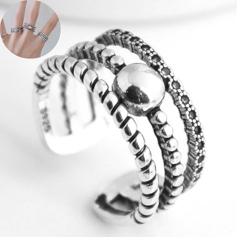 Nouvelle mode rétro anneau ouvert yiwu nihaojewelry gros NHSC208633's discount tags
