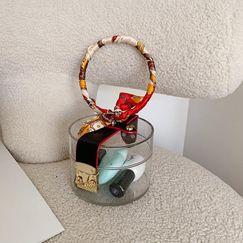 Bolso transparente acrílico mujer primavera moda nueva bufanda anillo bolsa cosmética bolsa impermeable NHGA208393