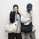 New fashion canvas shoulder messenger bag simple large capacity messenger bag wholesale NHHX208546