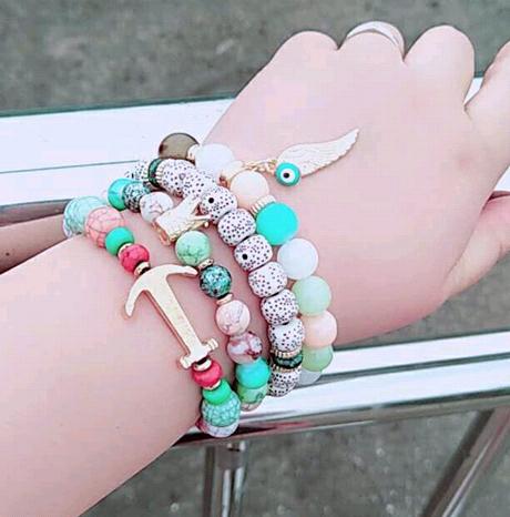 La tendance de la mode est simple et polyvalent bracelet en perles multicouches yiwu nihaojewelry gros NHSC208620's discount tags