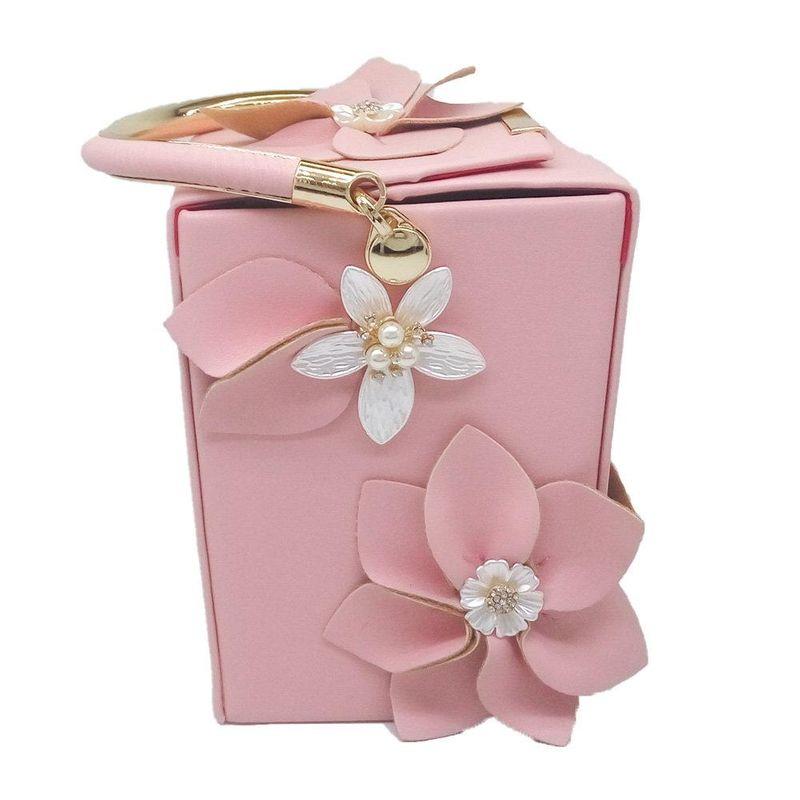 New fashion handbag box-shaped flowers and diamonds dinner bag banquet bag party evening bag NHJU208592