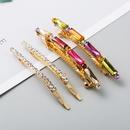 New fashion acrylic diamondset hair clip cheap side clip set wholesale NHLN208866
