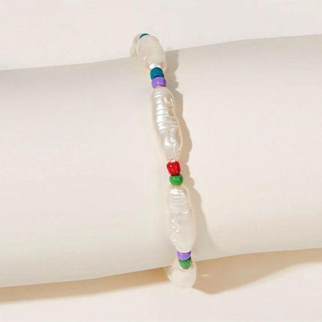 Nouvelle mode faux perle cheville perlée créative rétro simple blanc cheville en gros NHPJ208919's discount tags