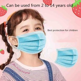 Kids Mask Fast Delivery Disposable Protective Mask to Safety Masks Dustproof Children Masks Child Prevent Disease Mask NHAT208925's discount tags