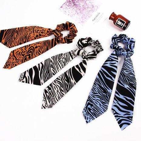 Nouvelle mode super longue écharpe en soie streamer cheveux corde en mousseline de soie impression bon marché chouchous en gros NHDM208953's discount tags