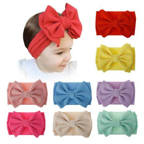 New children's hair accessories big bow hair band cloth baby headwear wholesale NHDM208989's discount tags