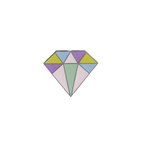 New fashion 3D color diamond brooch student badge clothes brooch wholesale NHMO209021's discount tags