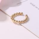 New earless earrings metal beads ushaped ear buckle metal simple ear clip NHMO209161