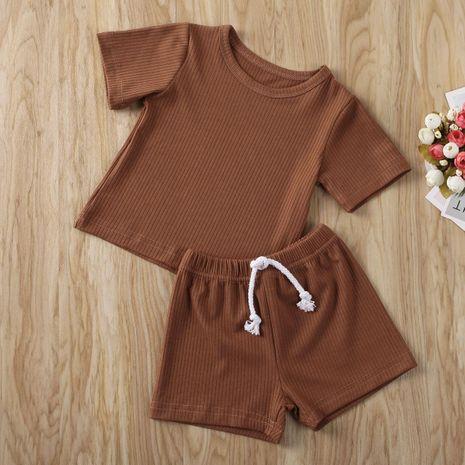 Le nouveau costume de deux pièces multicolore Pit Strip Boy en gros NHYB209330's discount tags