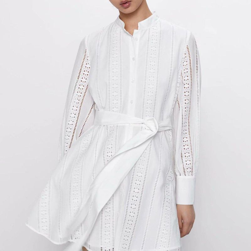 Wholesale new fashion women's embroidery mini dress NHAM209373