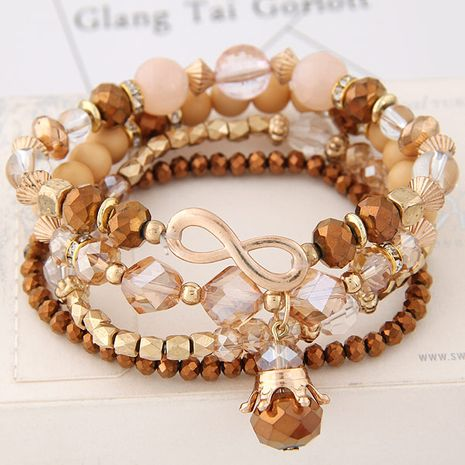 Simple crystal mix and match fashion bracelet yiwu nihaojewelry wholesale NHSC209551's discount tags