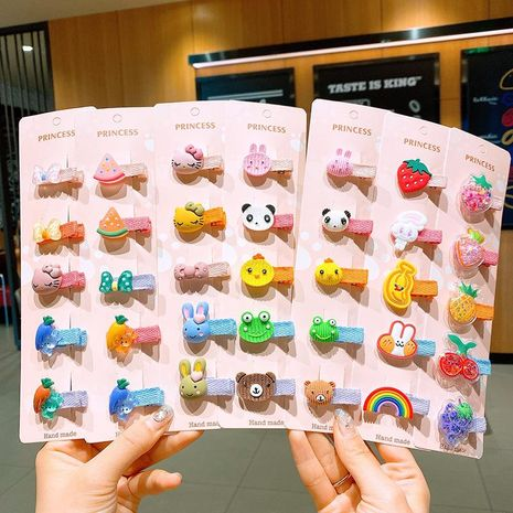 Niños horquilla princesa bebé tocado infantil horquilla coreana dibujos animados lindo tocado NHSA209657's discount tags