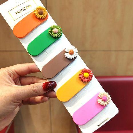 Coreana nueva simple linda margarita horquilla barata al por mayor NHSA209664's discount tags