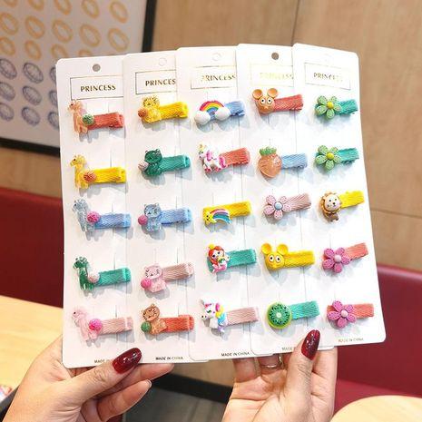 Children hairpin baby headdress infant hairpin Korean cartoon cute princess hair accessory NHSA209666's discount tags