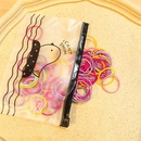 Children39s flower hair rope girl hair tie small rubber band hair ring baby headdress female hair rope hair accessories NHSA209667
