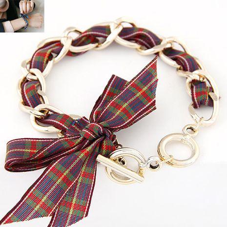 Mode coréenne grand arc chaîne en métal bracelet yiwu nihaojewelry gros NHSC210079's discount tags