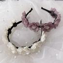 Korean spring new fashion resin handmade flowers cheap headband wholesale NHSM209784