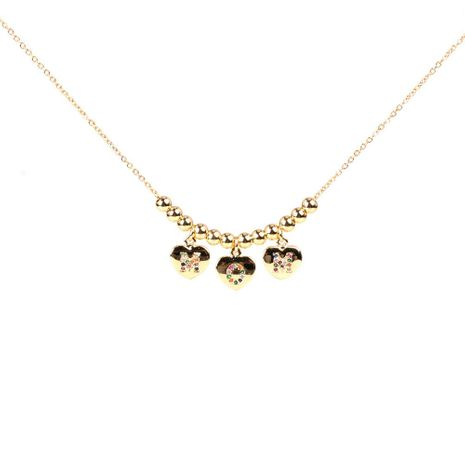 Mother's Day gift new fashion MOM letter zircon necklace wholesale NHPY209796's discount tags
