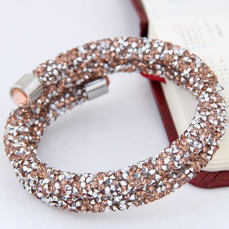 Fashion double opening bracelet yiwu nihaojewelry wholesale NHSC210076's discount tags