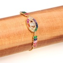 New Fashion Rainbow Zircon Eye Bracelet Wholesale NHPY209815