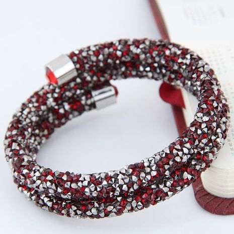 Fashion double opening bracelet yiwu nihaojewelry wholesale NHSC210074's discount tags