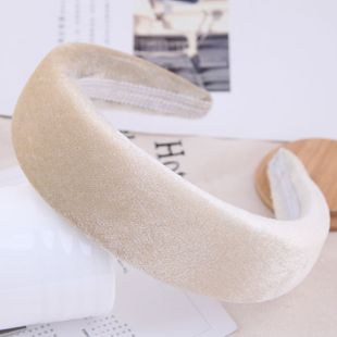 Nueva coreana simple engrosamiento modificado banda para el cabello yiwu nihaojewelry al por mayor NHSC210058's discount tags