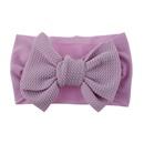 Knotted children39s bowknot nylon headband soft elastic infant baby hair accessories stockings headband NHDM209945