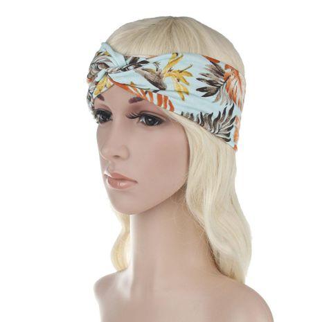 Printemps nouveau style bohème imprimé bande de cheveux en gros NHDM209950's discount tags