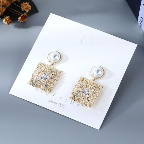 Coréenne nouvelle mode sauvage perle S925 boucles d'oreilles aiguille d'argent yiwu nihaojewelry gros NHPS210010's discount tags
