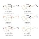 New comfortable metal glasses fashion wild antiblue light retro glasses wholesale NHFY210123