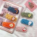 New cute plush cheap hairpin wholesale NHZE210136