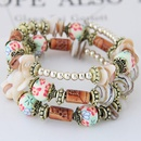 New fashion bohemian style shell accessories mix and match multilayer bracelet yiwu nihaojewelry wholesale NHSC210476