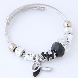 Fashion metal wild pan DL simple multi-element accessories bracelet yiwu nihaojewelry wholesale NHSC210464's discount tags